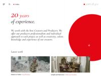 Video Agency Portfolio Website