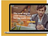 Staffing Website Concept