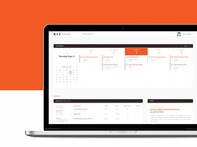 MyCourses Redesign web design reskin ui