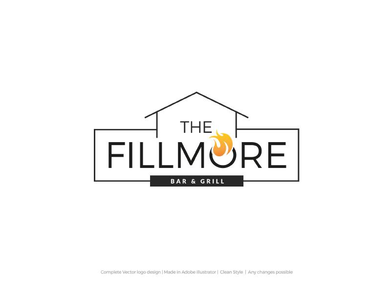 The Fillmore Logo logo grill bar
