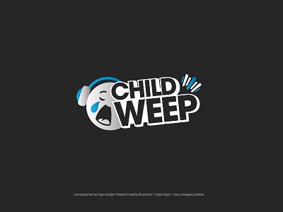 Child weep child logo weep