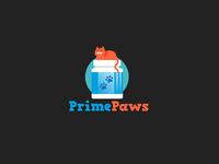 PrimePaws Logo Design