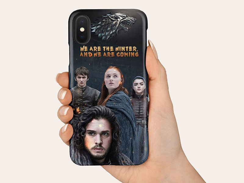 Game of thrones cover branding design case cover phone cover