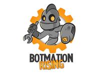 Mascot Robot Logo