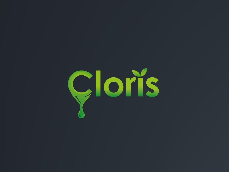 Cloris Logo branding vector minimalist icon flat design logo