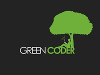 Green Coder Logo Design