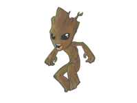 Groot Illustration
