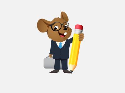 Mascot Rat Design