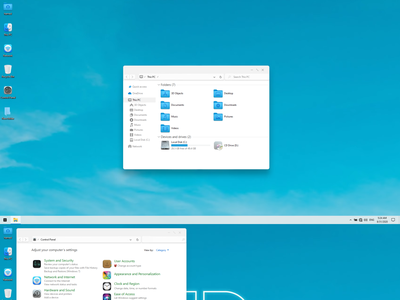 winOS Theme for Windows 10 windows10themes windows10 windows visualstyle visual uxtheme uxstyle transformation themepack theme suite style skinpack skin shellpack pack ipack iconpackager iconpack icon