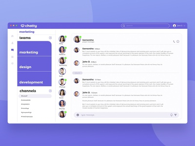 Chatty chatty scrollgroups xd adobexd office workgroups groupmessaging groups design uidesign ui app group chat messaging