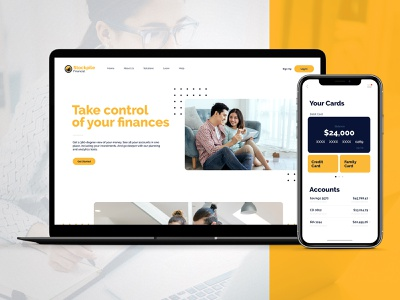 Stockpile Financial uidesign ui appdesign webdesign adobexd adobe personalfinance banking app financial stocks money finance
