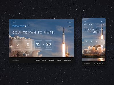 Countdown Timer mockup dailyuichallenge dailyui ux ui design