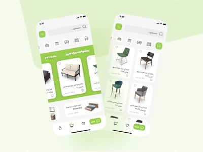 Furniture app app design concept ux ui furniture app furniture
