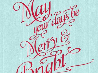 Merry Bright iPad wallpaper