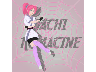 Machi anime fan art digital art animeart photoshop cc 2019 illustration digital art anime machi komacine fan art spider hunter x hunter fan art hunterxhunter phantom troupe machi fan art machi komacine