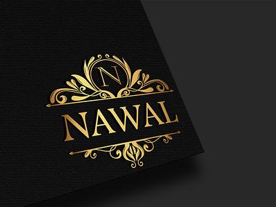 Logo design for ' NAWAL' design vector illustration logo illustration