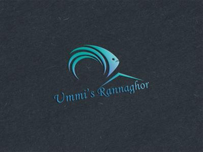 """Logo design for """" UMMI'S RANNAGHOR """" flat vector illustration vector art design logo illustration"""