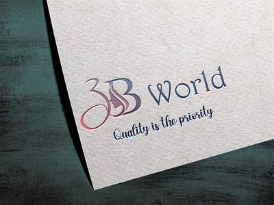 Logo design for ' 3B WORLD ' logo