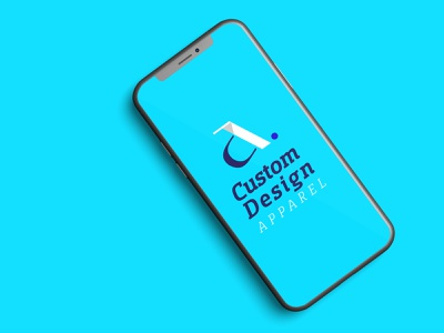 Custom Design Apparel (CDA) Logo Design - Clothing Logo Design bold logo logo illustration icon flat design app vector branding design minimal logo design