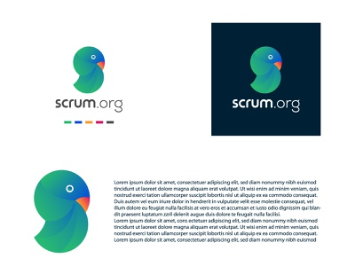 Bird Logo Design business love dailylogochallenge website ux ui scrum organization bird icon abstract logo unique creative flat illustrator minimal graphic design design branding logo