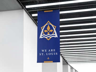 MLS St. Louis Rebrand river arch football logo soccer logo modern clean design logo brand stl st. louis football soccer