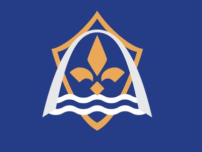 MLS St. Louis Rebrand concept logo branding design football logo clean minimal river arch logo soccer logo st. louis stl soccer football