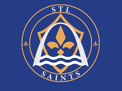 MLS St. Louis Rebrand river arch football logo modern clean design soccer logo brand stl st. louis football soccer