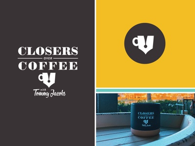 Closers Over Coffee Podcast Branding apple illustration design typography logo lettering identity brand design branding and identity podcast logo branding design podcasing podcast branding
