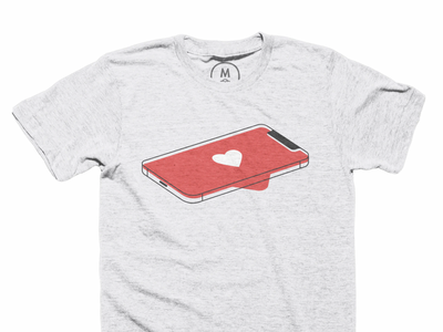 Tech Love social media app apple iphone technology tech apparel