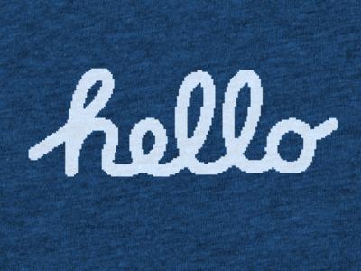 Hello Macintosh - T-Shirt is Now Live on Cotton Bureau Now