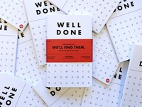 Well Done Branded Notebooks