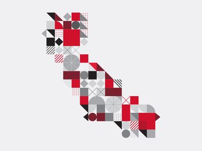 Cali Shapes modern shapes geometric california