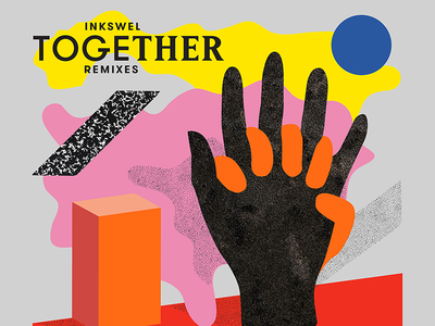 Inkswel Together Remixes  illustration colors music bbe together inkswel
