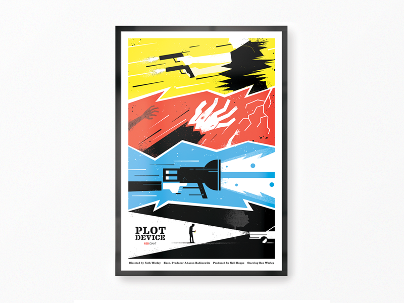 Plot Device Film Poster - 5 Year Anniversary plot device film movie print screen poster