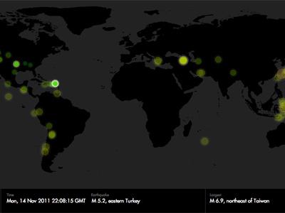 7 Days / Earthquakes p2 processing earthquake