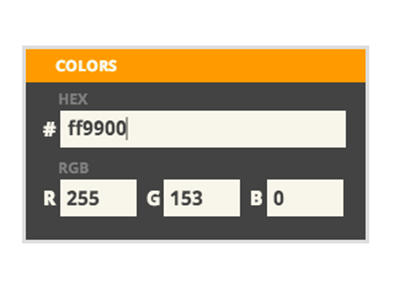 Nollr Colors nollr web app widget color colors rgb hex conversion converter convert helper tool web-based start page