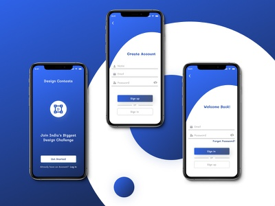 Signup & Signin Page UI Design design branding uiux figma
