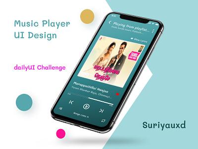 Music Player UI Design songsuidesign musicui musicplayerui uidesign appdesign branding webdesign ui design dailyui ux figma uiux