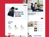 Movement Home ui homepage branding web