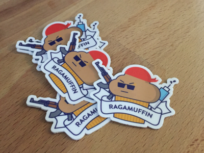 Ragamuffin stickers