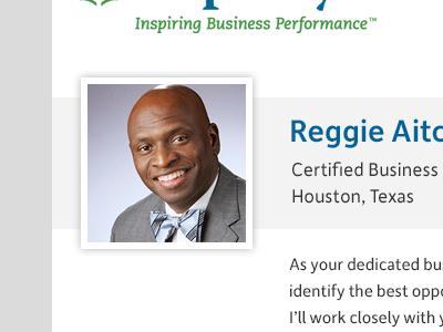 Business Performance Advisor Page
