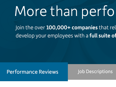 Performance Management Overview Re-design