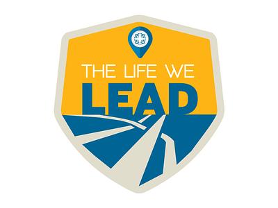 Sales Convention Logo Idea road logo badge