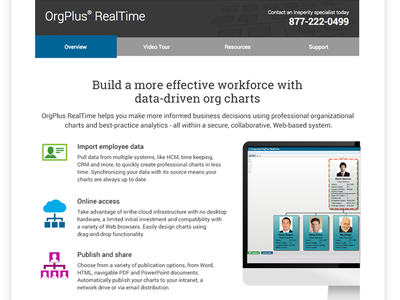 Orgplus product pages product icons saas