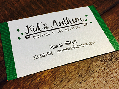 Kid's Anthem Logo & Business Card
