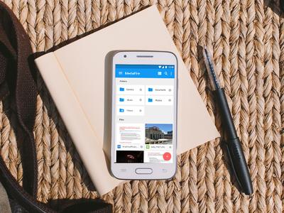 MediaFire Android App Re-design