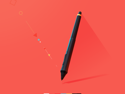 pen tablet c4d after effects style frame pen wacom intuos