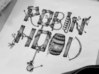 Robin Hood Lettering