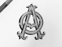 AO monogram