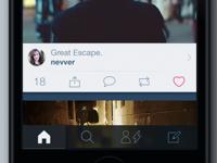 iOS 7 Tumblr